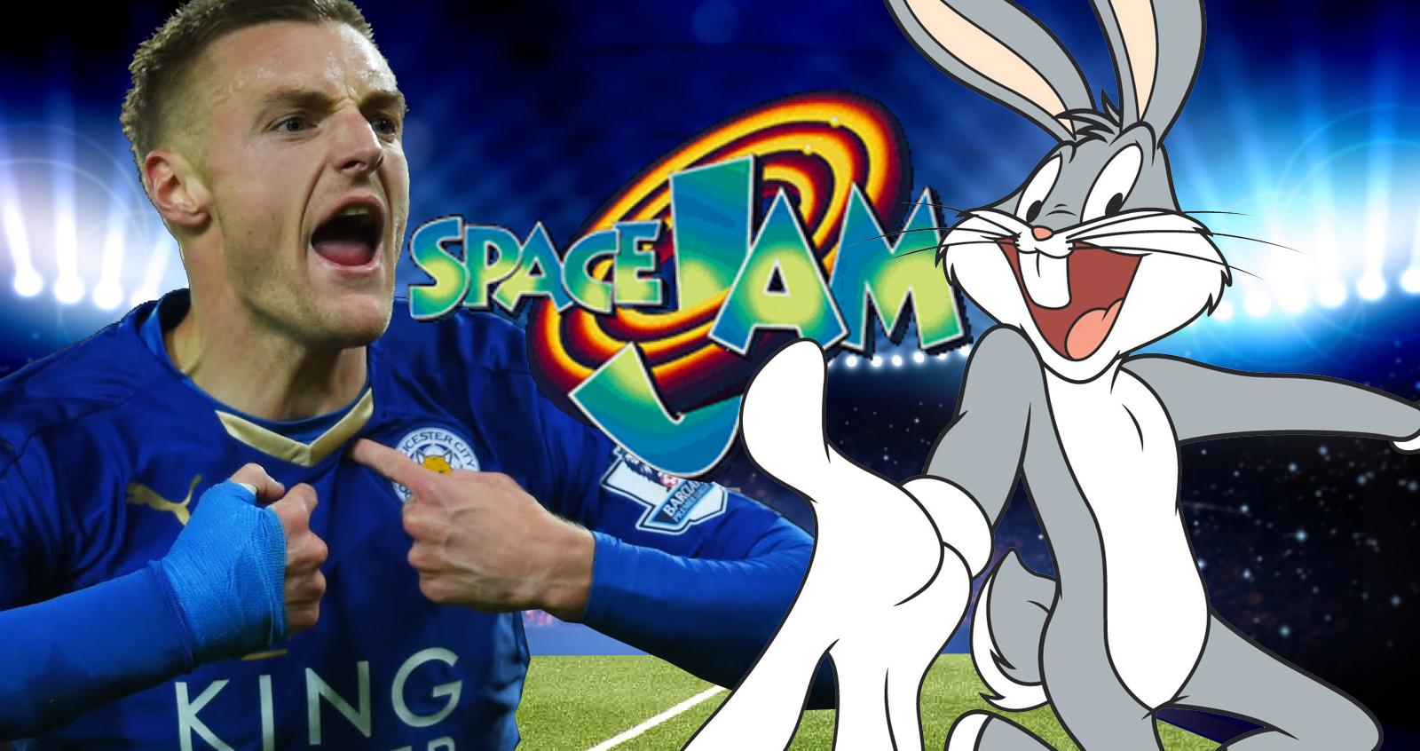 Jamie Vardy è il protagonista di Space Jam 2!