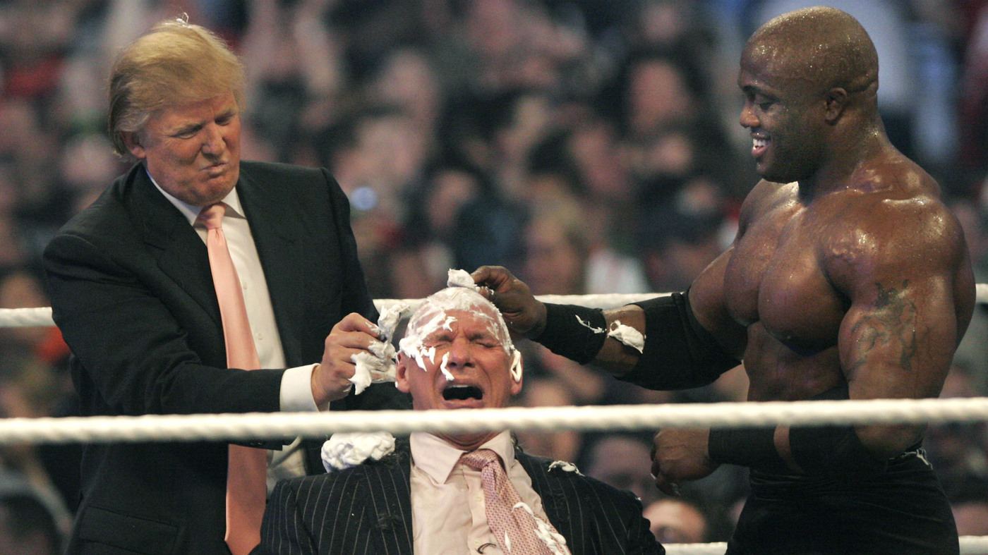 i film con Donald Trump - wrestling