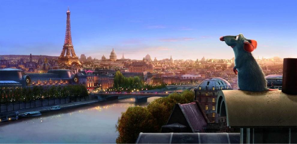 ratatouille - film a parigi