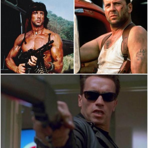 Attori dei film d'azione: i duri di ieri contro quelli di oggi | Pills Of Movies