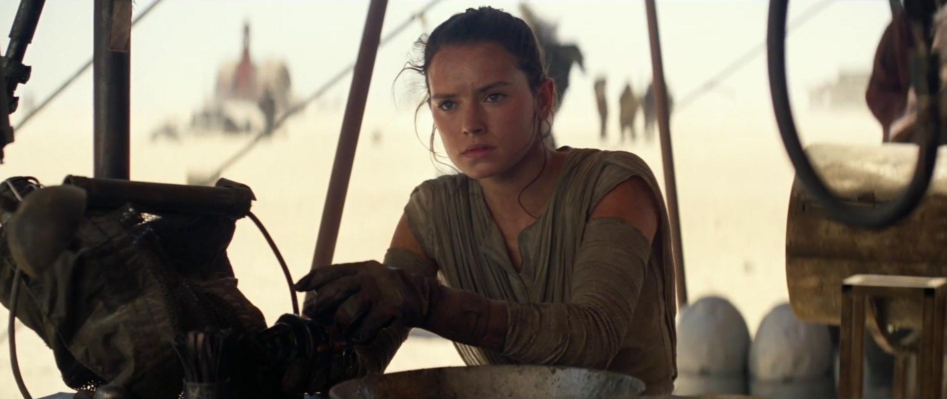Il risveglio della forza - La visione di Rey