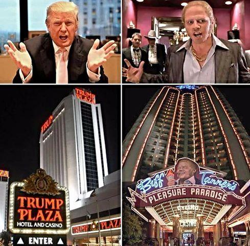 i film con Donald Trump - ritorno al futuro