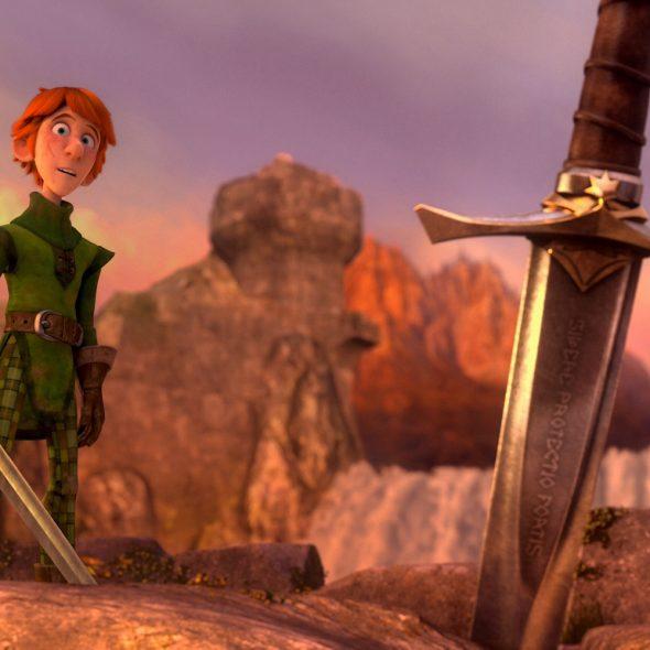 Justin e i cavalieri valorosi - film d'animazione - recensione