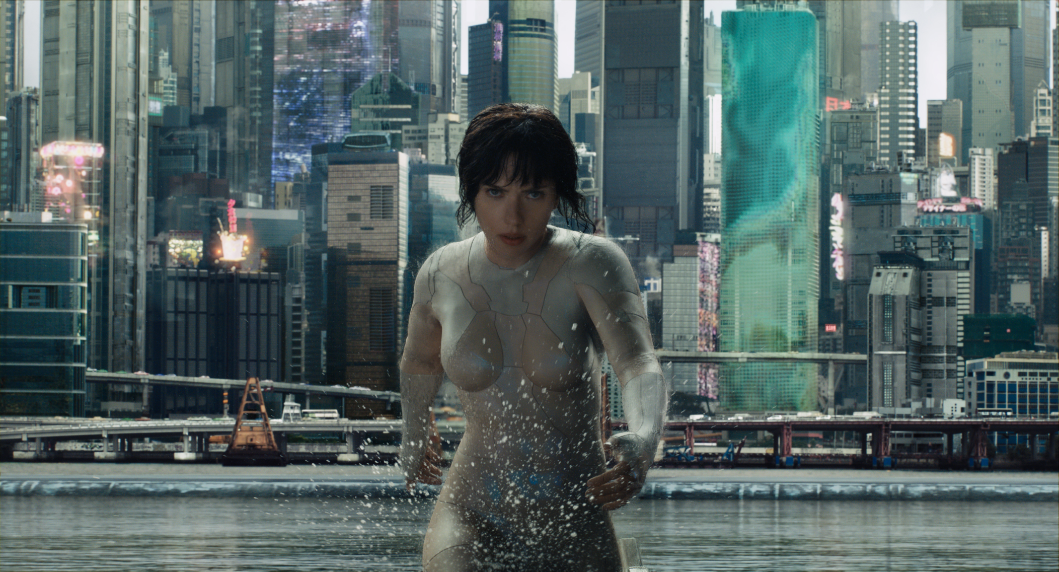 ghost in the shell film recensione