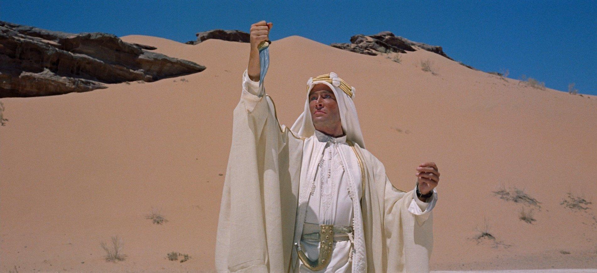 Lawrence d'Arabia film recensione