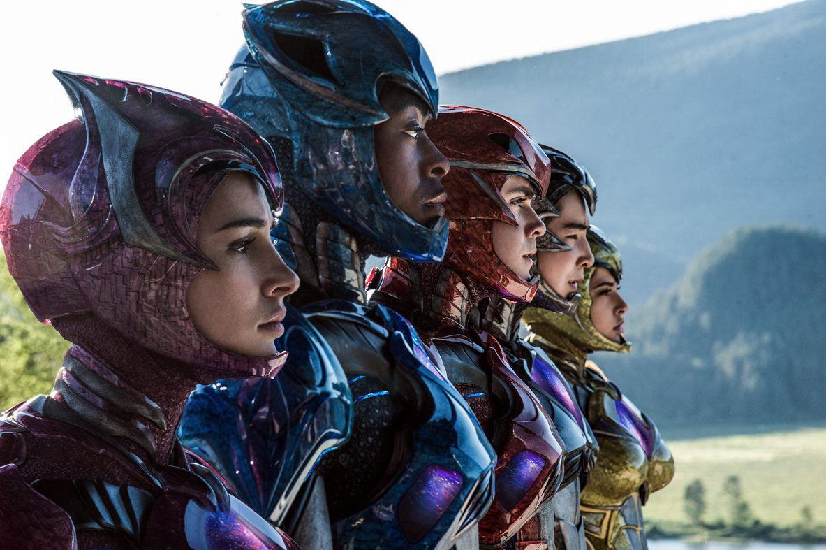 power rangers film 2017