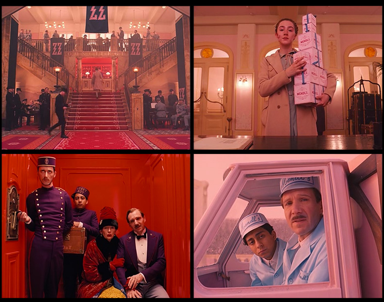 fotografia al cinema wes anderson grand budapest hotel