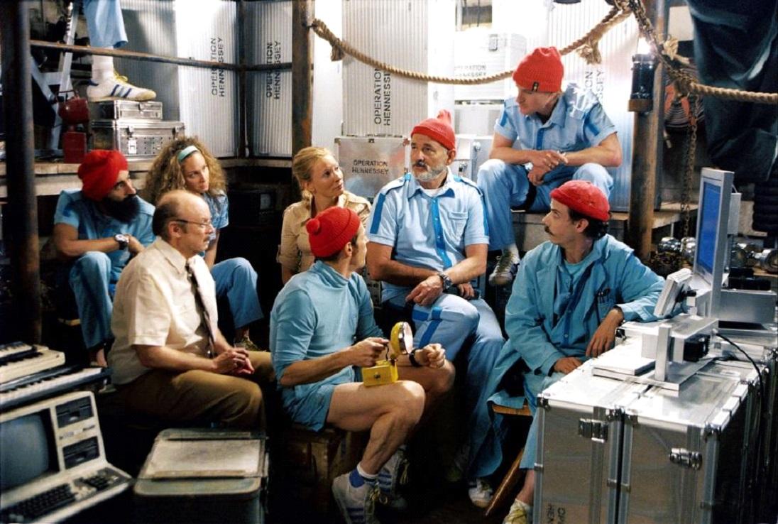 I costumi nei film di Wes Anderson LE AVVENTURE ACQUATICHE DI STEVE ZISSOU