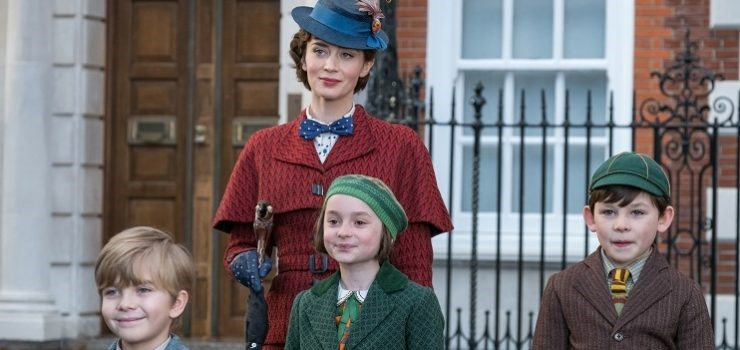 Il Ritorno di Mary Poppins: differenze tra la Mary di Julie Andrews e quella di Emily Blunt - scena film