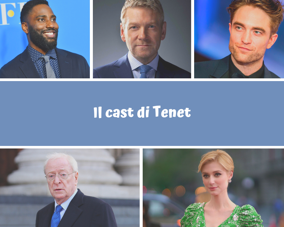 Il cast di Tenet - il nuovo film di nolan