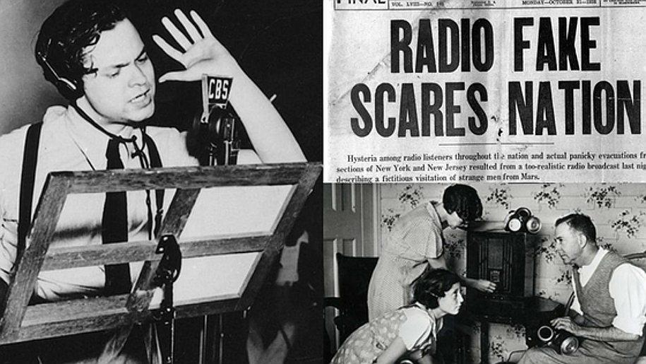 orson welles radio - mockumentary