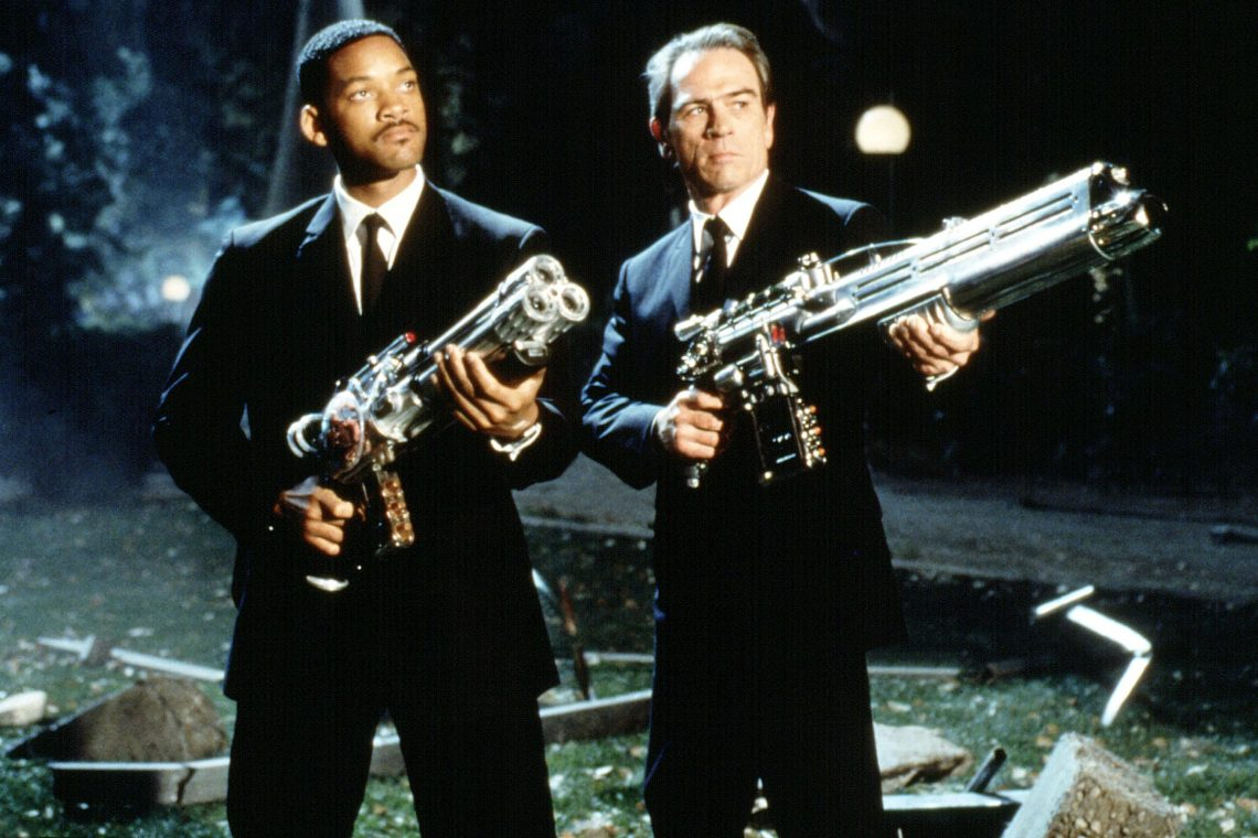 MEN IN BLACK 1 recensione film 1997