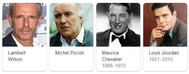 attori francesi