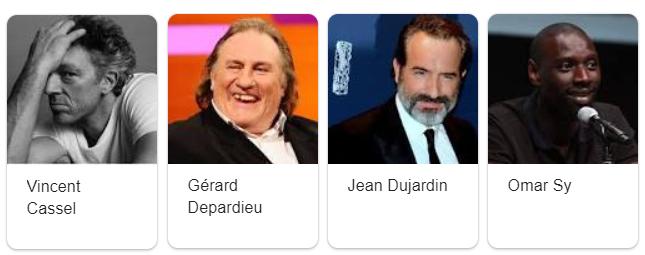 attori francesi famosi