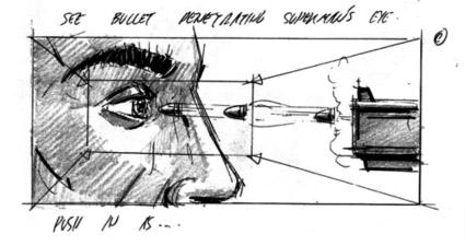 esempio storyboard superman