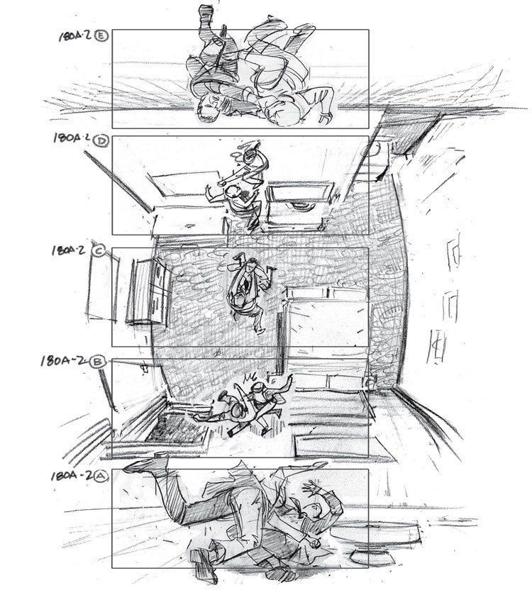 inception esempio storyboard