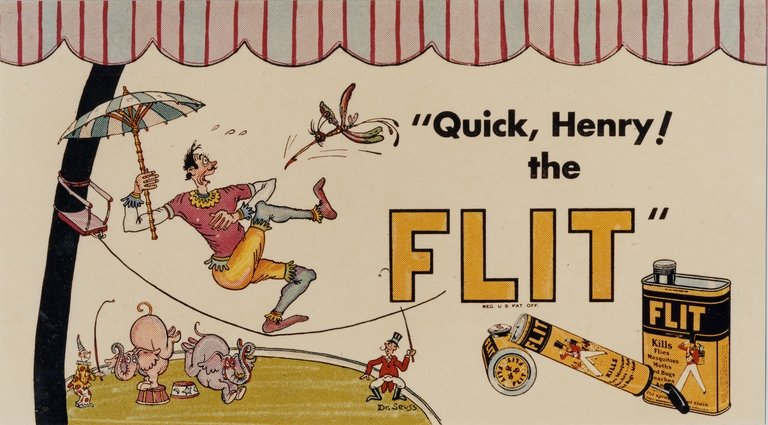 Quick, Henry, the Flit!