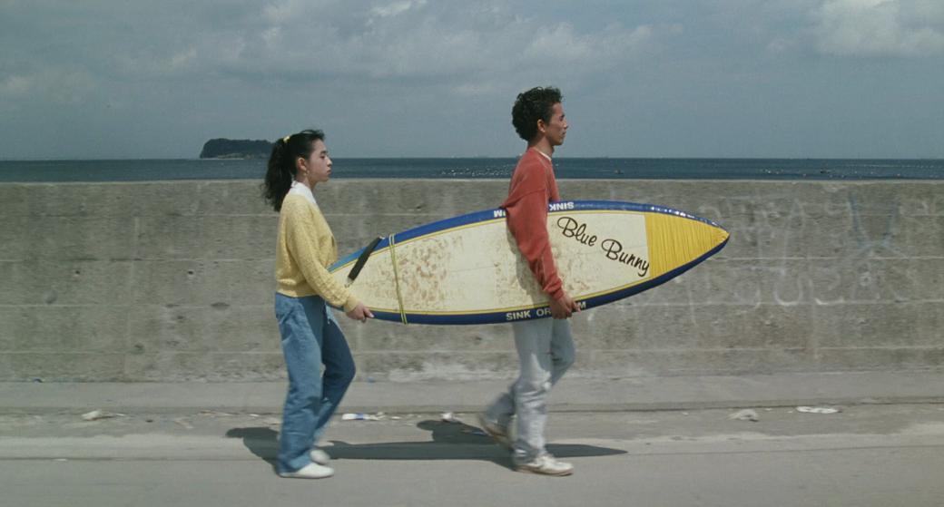 il silenzio sul mare surf film giapponese