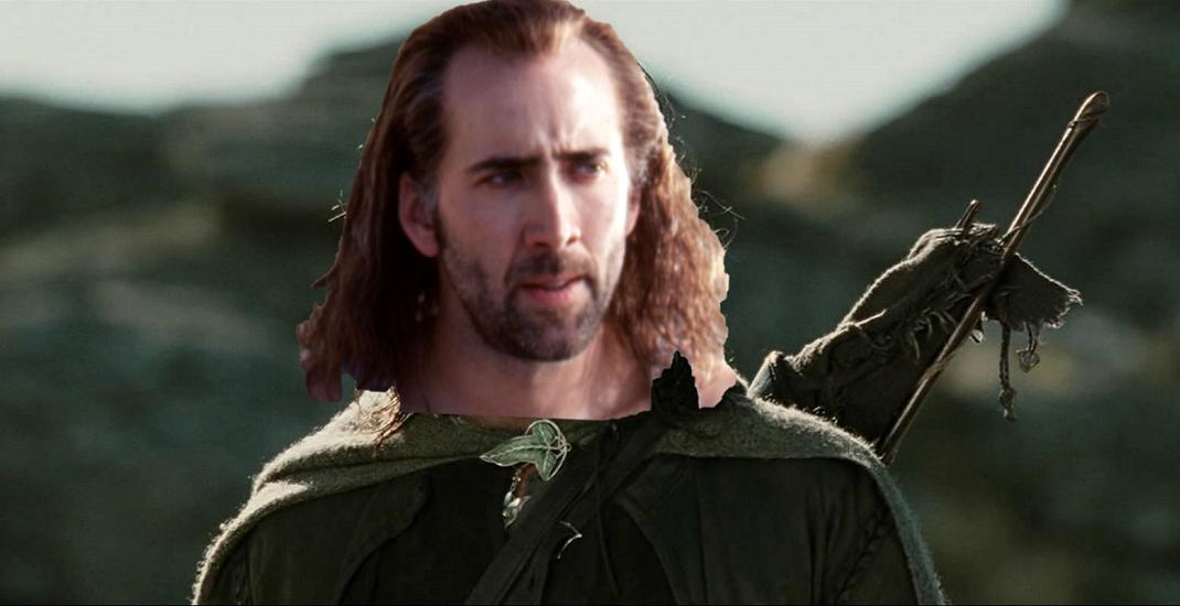 Aragorn nicolas cage celebri ruoli rifiutati da un attore