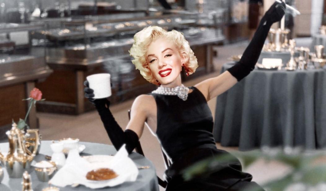 marilyn monroe colazione da tiffany