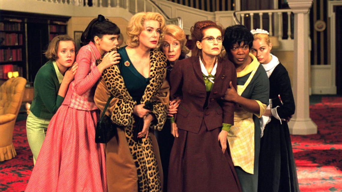 8 donne e un mistero film recensione