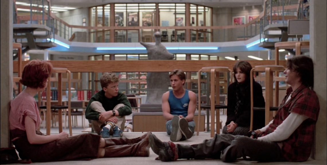 breakfast club film recensione teen movie