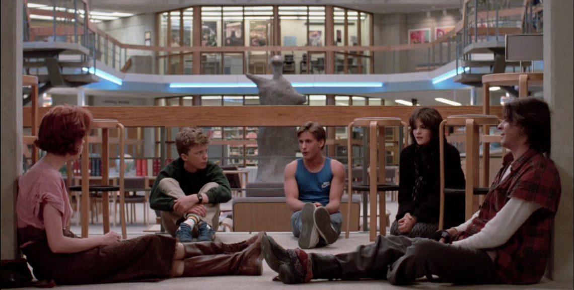 breakfast club film recensione teen movie