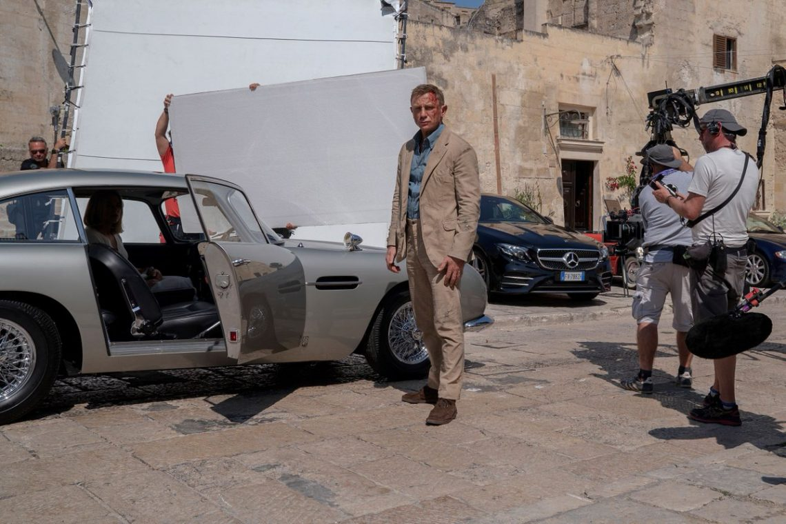 film girati a matera no time to die