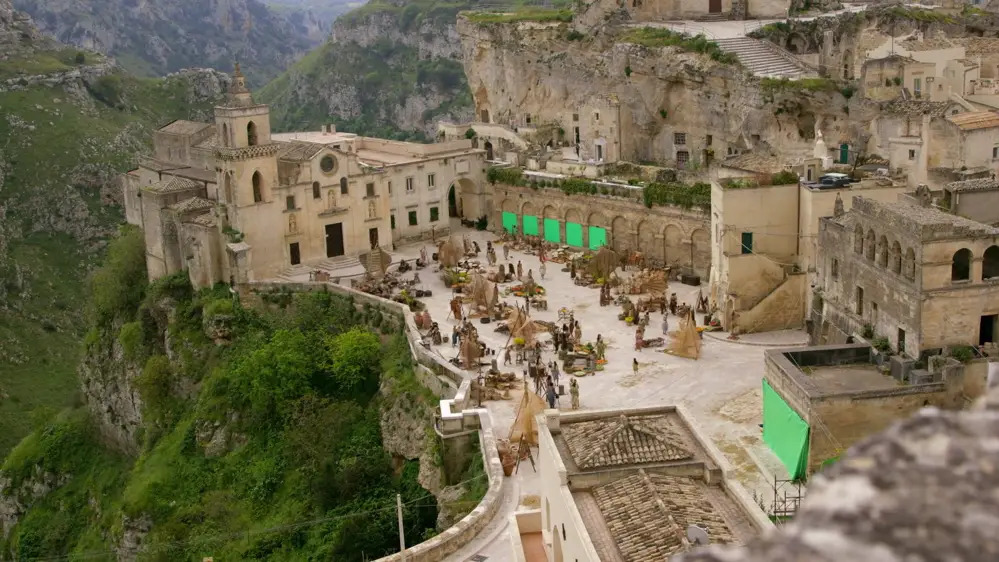 wonder woman film girati a Matera