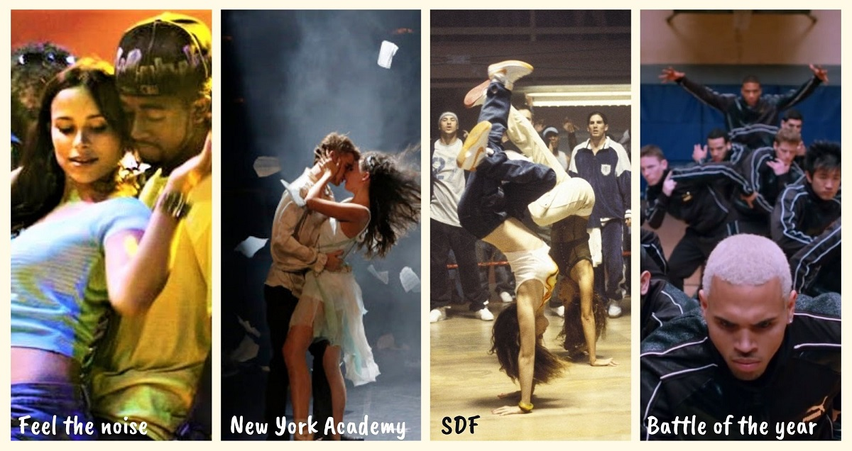 film che assomigliano a step up