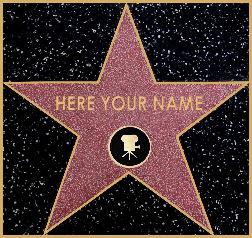 stella sulla hollywood walk of fame