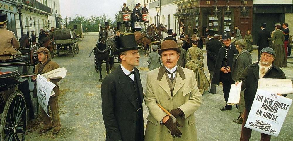 Le avventure di Sherlock Holmes ITV Granada